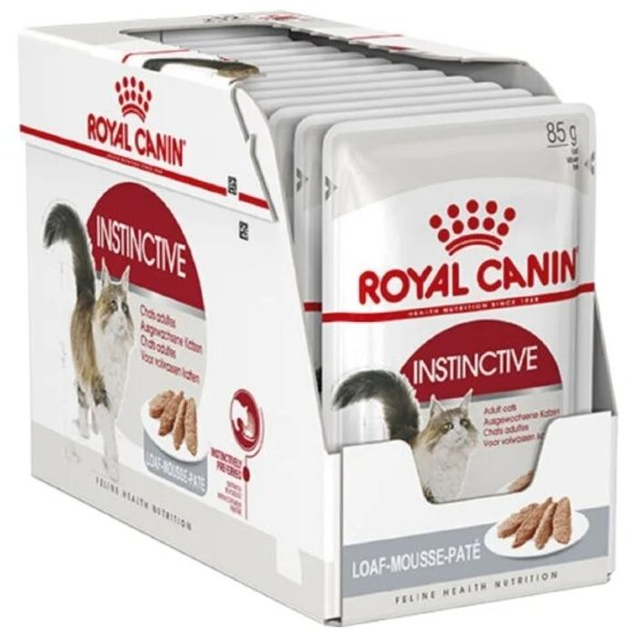 Консервы Royal Canin Instinctive для кошек паштет 12 шт